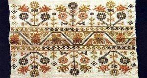 Orosházi keresztszemes hímzés