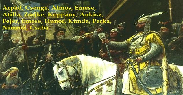 Adjunk gyermekeinknek ősi magyar nevet!