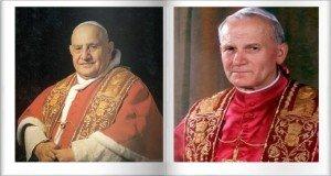 Róma városa XXIII. János és II. János Pál szentté avatására készül
