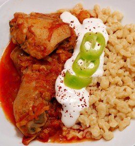 Csirkepaprikás, a hagyományos magyar étel