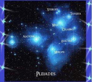 A Plejádok Fényküldöttei