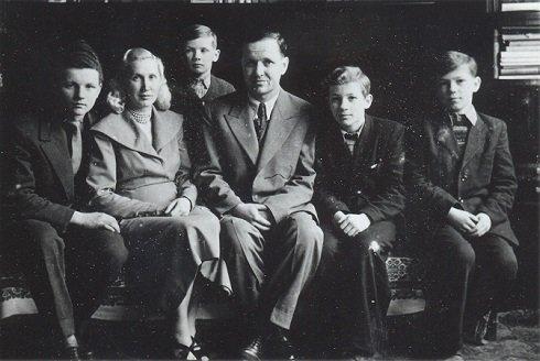 A család 1953-ban