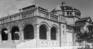 Emlékhely az egykori Regnum Marianum templomnak