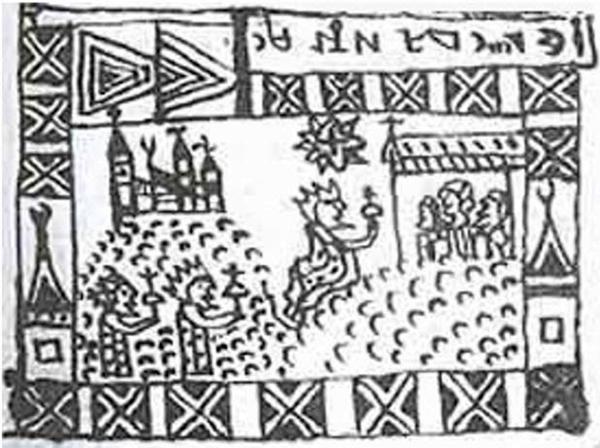 Egy illusztráció a kódexből - Fotó: Ancient Origins