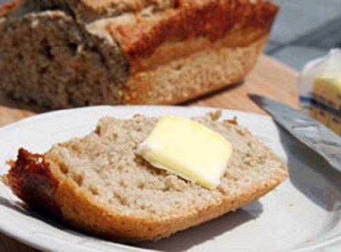 Egyszerű sajtos sör kenyér