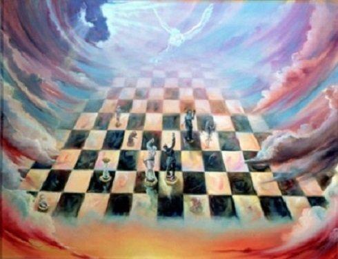 Életünk egy hatalmas sakkjátszma