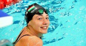 Magyar hölgy a világrekorder uszonyos gyorsúszásban