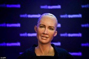 Az ukrán korrupció megoldásáról kérdezték a humanoid robotot, aki erre lefagyott