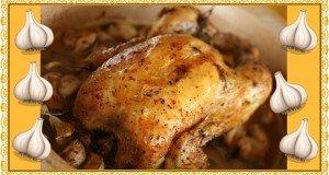 Nincs az a puccos fűszerkeverék, amely pótolni tudja a fokhagymát – Sült csirke