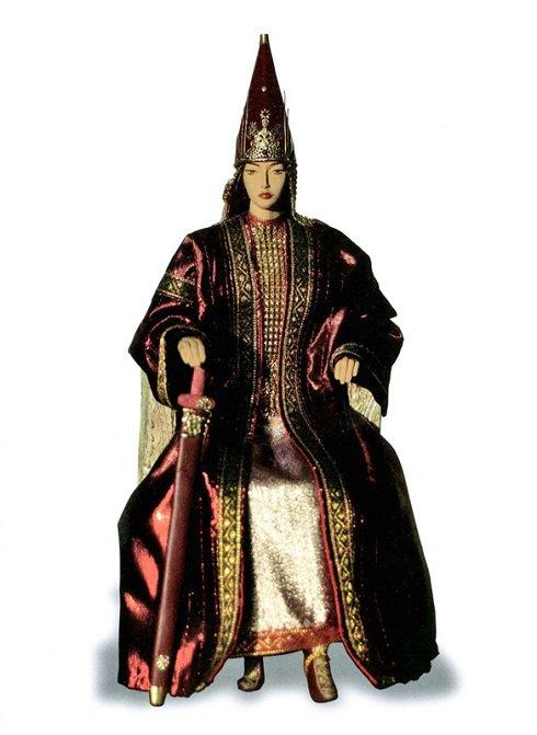 Harcos hercegnő Kazahsztánban