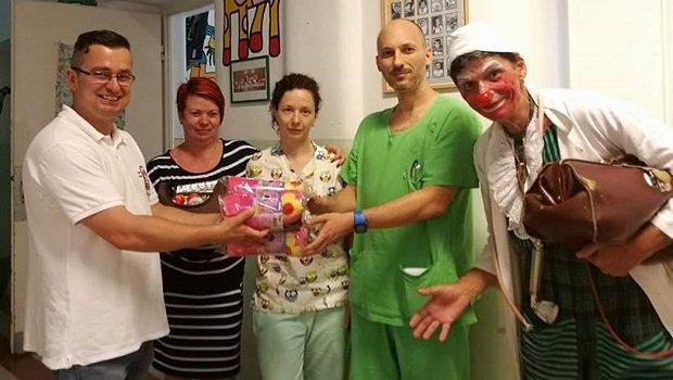 Szegeden járt a Vitézi Rend Karitatív Csoportja