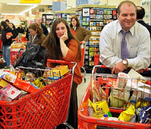 Ki mondta, hogy szupermarketben egyszerű a bevásárlás?