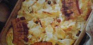 A túrós csusza a hagyományos magyar étel