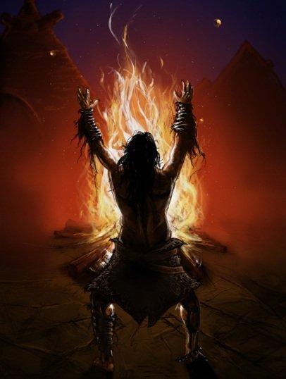 """A tűzkultusszal mindig is nagyon vigyázott a keresztény egyház. Már az Ószövetség is bálványozásnak minősítette a tűzgyújtást. Aztán az ókeresztények gondolatvilágában az ördögi Lucifer neve is összefüggött a """"fényhozóval"""". a Pedig a pusztai népeknél egyszerűen mindennapi létszükséglet lehetett egykor - később összekeveredhetett a keresztény kultúrkörben a sátáni, ördögi kígyó (mint a gonosz jelképe) elűzésével is."""