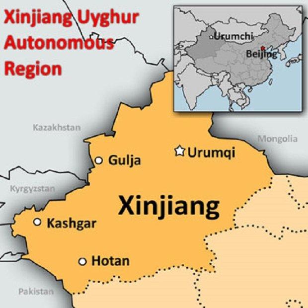 Ujgur autonom tartomány