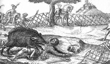 Zrínyi Miklós és a gyilkos vadkan