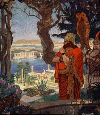 Nabukodonozor király a függőkertben