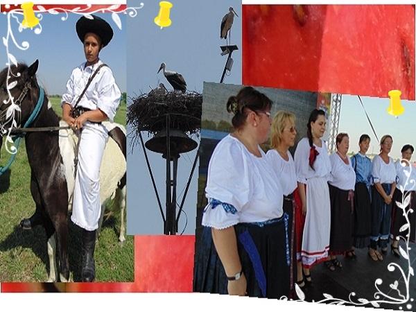2014. augusztus 2. Csányi Dinnyefesztivál - Többek közt a falu asszonykórusa szórakoztatta az ünneplő közönséget - Fotó: Magyar Nő Magazin