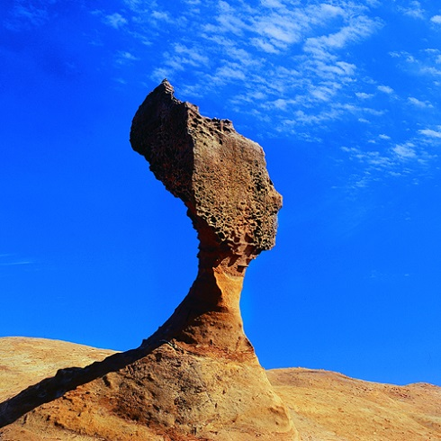 Ha a kb. 4000 éves Királynő Fejét szeretnénk látni, Taiwanig kell utazni. Fotó: Sin-Shian, Juang