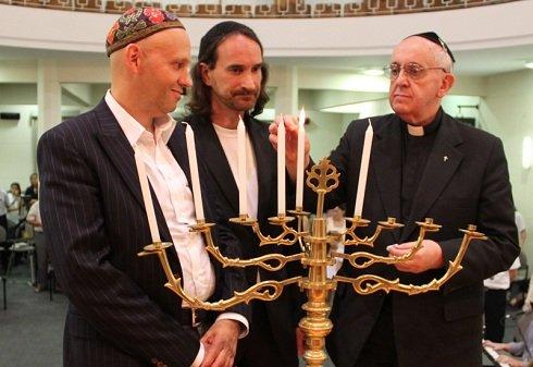 """Ferenc pápa: """"újítsuk meg a zsidó néppel való szolidaritásunkat és közelségünket"""""""