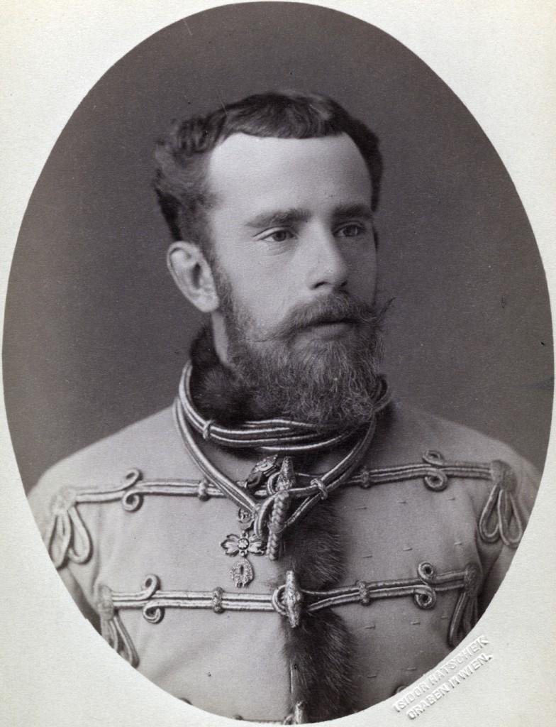 A magyarbarát Habsburg Rudolf trónörökös.