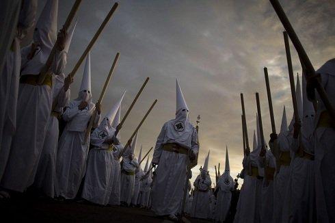 Malaga, Spanyolország - Vezeklők