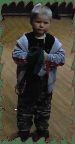 A legfiatalabb nemzeti érzelmű Kárpátia rajongó 2016. február 13-án Zalaegerszegen a koncerten - fotó: Magyar Nő Magazin