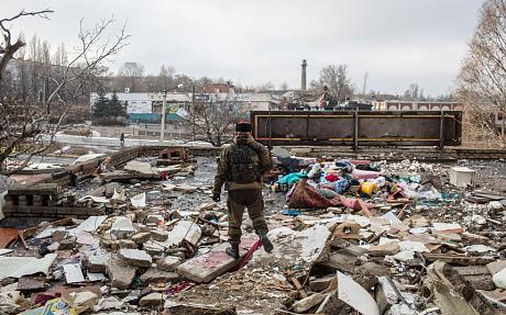 Nagyjából 80 százalékát az épületek a város érintette már a gránát (Francesca Volpi)