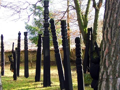 Régi kopjafák - Székely Nemzeti Múzeum, Sepsiszentgyörgy