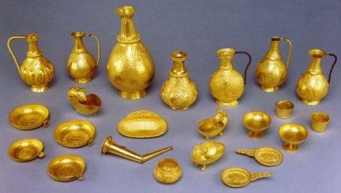 Nagyszentmiklósi aranykincsek