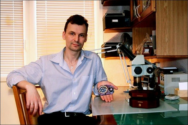 Vlagyimir Aniszkin orosz tudós.