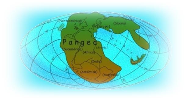 Pangea az egységes kontinens