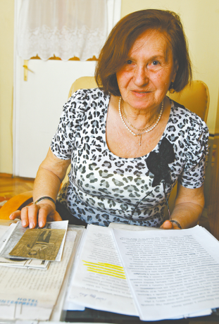 Nehézné Szilvássy Irén féltve őrzi férje hagyatékát