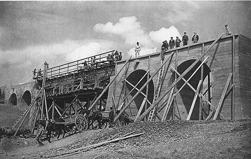 Szeretfa - Déda vasútvonal építése
