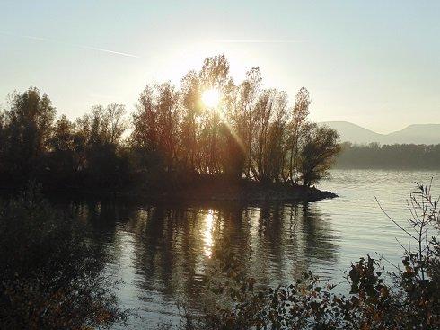 Sződliget, Duna-part 2013. október 27-én. Fotó: magyarno.com